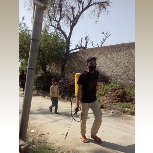 You are currently viewing Sanitising Dehara Sahapur village, Rajasthan
