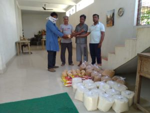 Ration Distribution in Kamptee, Nagpur, Maharashtra