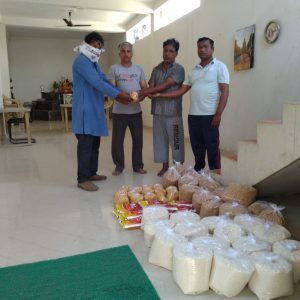 Ration Distribution in Kamptee, Nagpur, Maharashtra