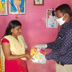 Food Distribution in Nizamabad, Telangana