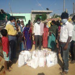 Food Distribution in Kollar, Karnataka