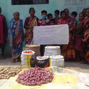 Food Distribution in Dumdumi, Balangir, Odisha