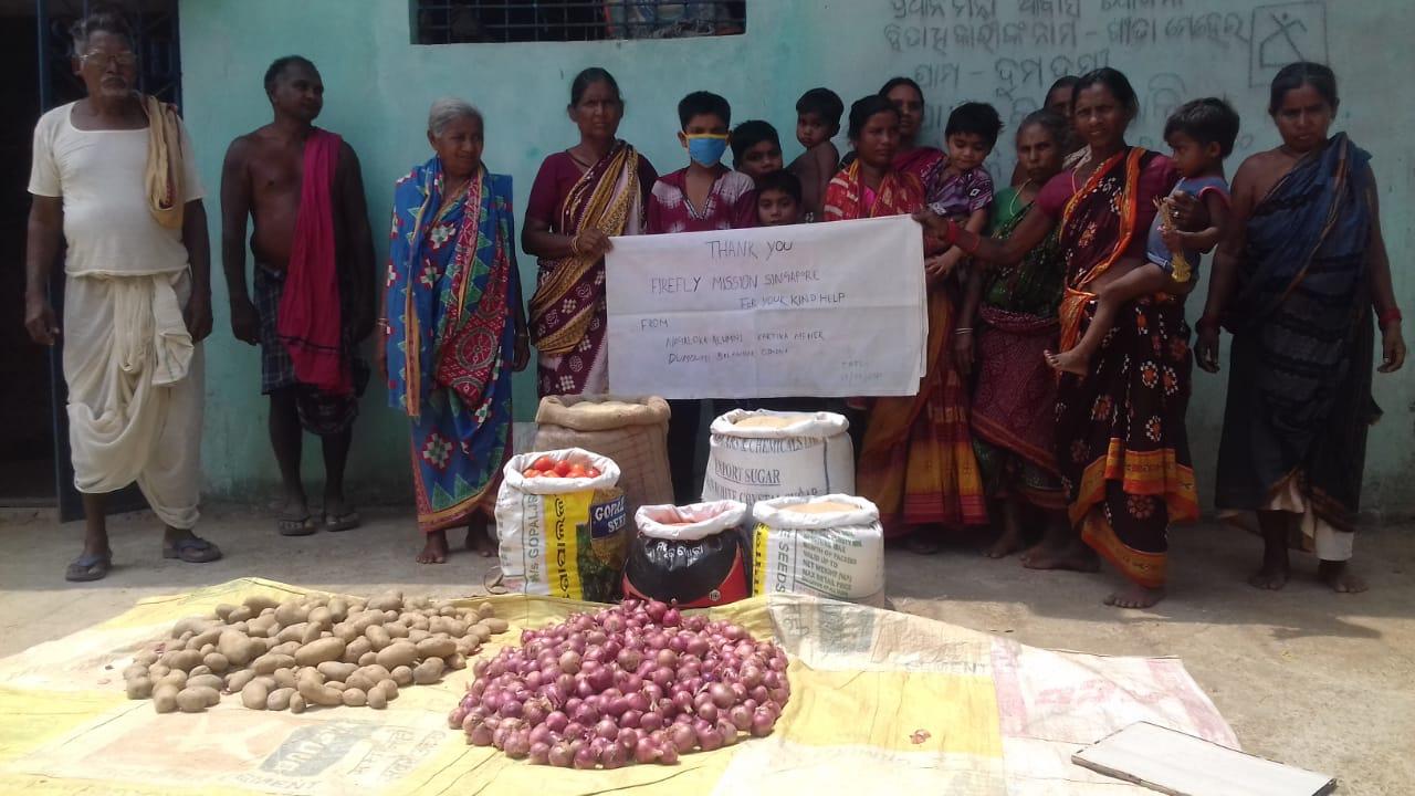You are currently viewing Food Distribution in Dumdumi, Balangir, Odisha
