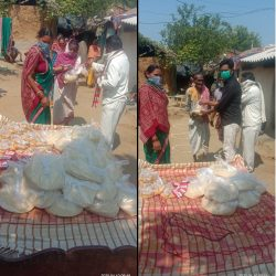Ration Distribution in Sonepur, Odisha