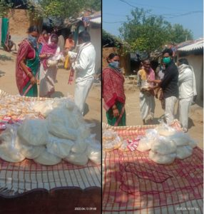 Ration Distribution in Sonepur, Odisha