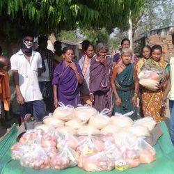 Ration Distribution in Subarnapur, Odisha