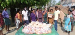 Ration Distribution in Subarnapur, Odisha