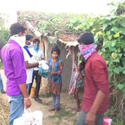 Food Distribution at Janjgir Champa District, Chhattisgarh
