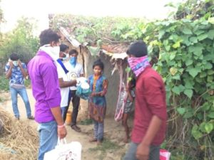 Food Distribution at Janjgir Champa District, Chhattisgarh