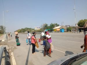 Mask Distribution in Nagpur