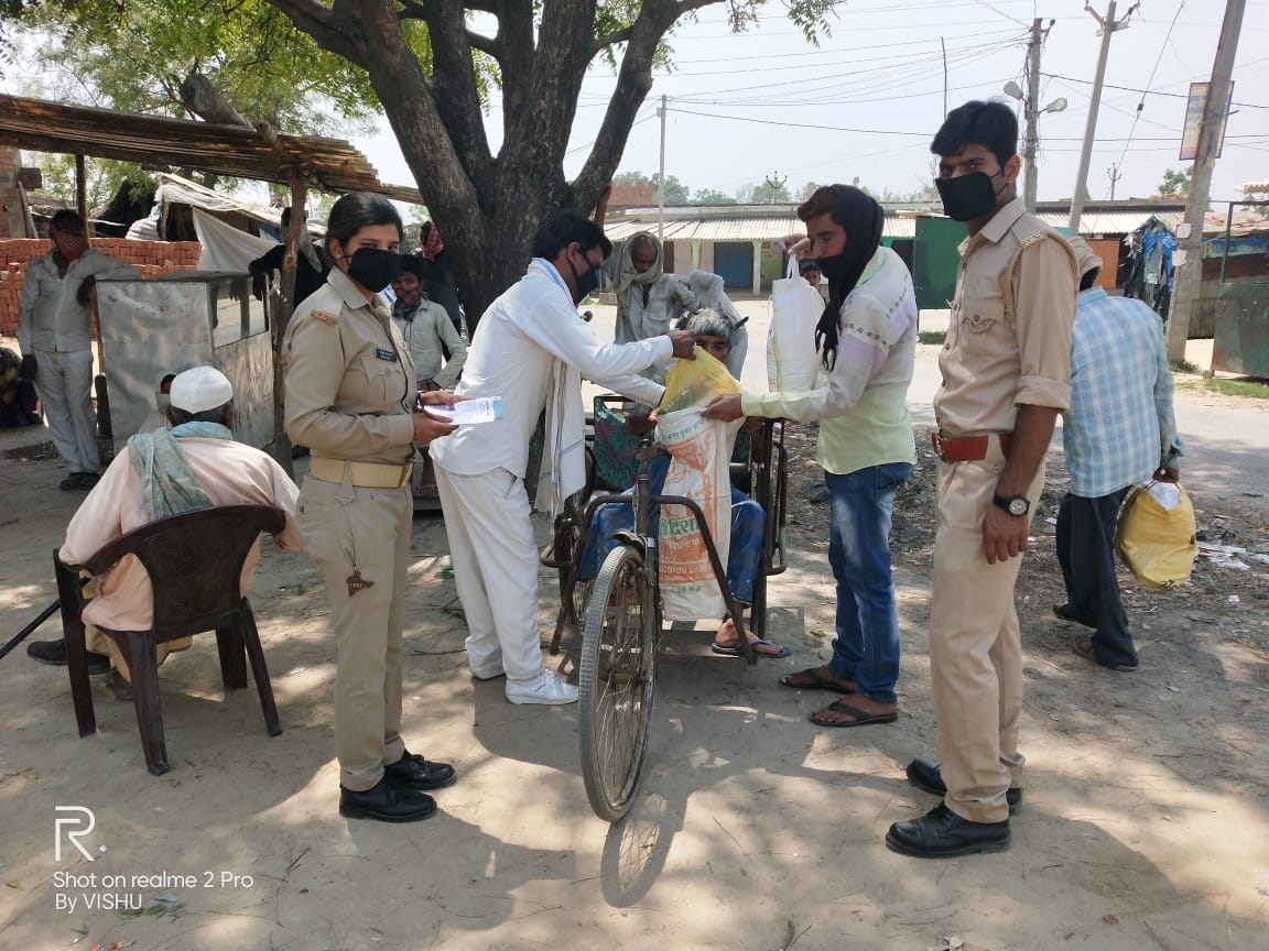 You are currently viewing Ration Distribution in Balrampur District, Uttar Pradesh- Day 1