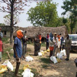 Ration Distribution in Balrampur District, Uttar Pradesh- Day 2