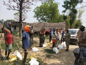Ration Distribution in Balrampur District, Uttar Pradesh- Day 2