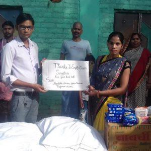 Ration Distribution in Bilgram, Hardoi, Uttar Pradesh
