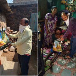 Ration Distribution in Nizamabad Block, Telangana