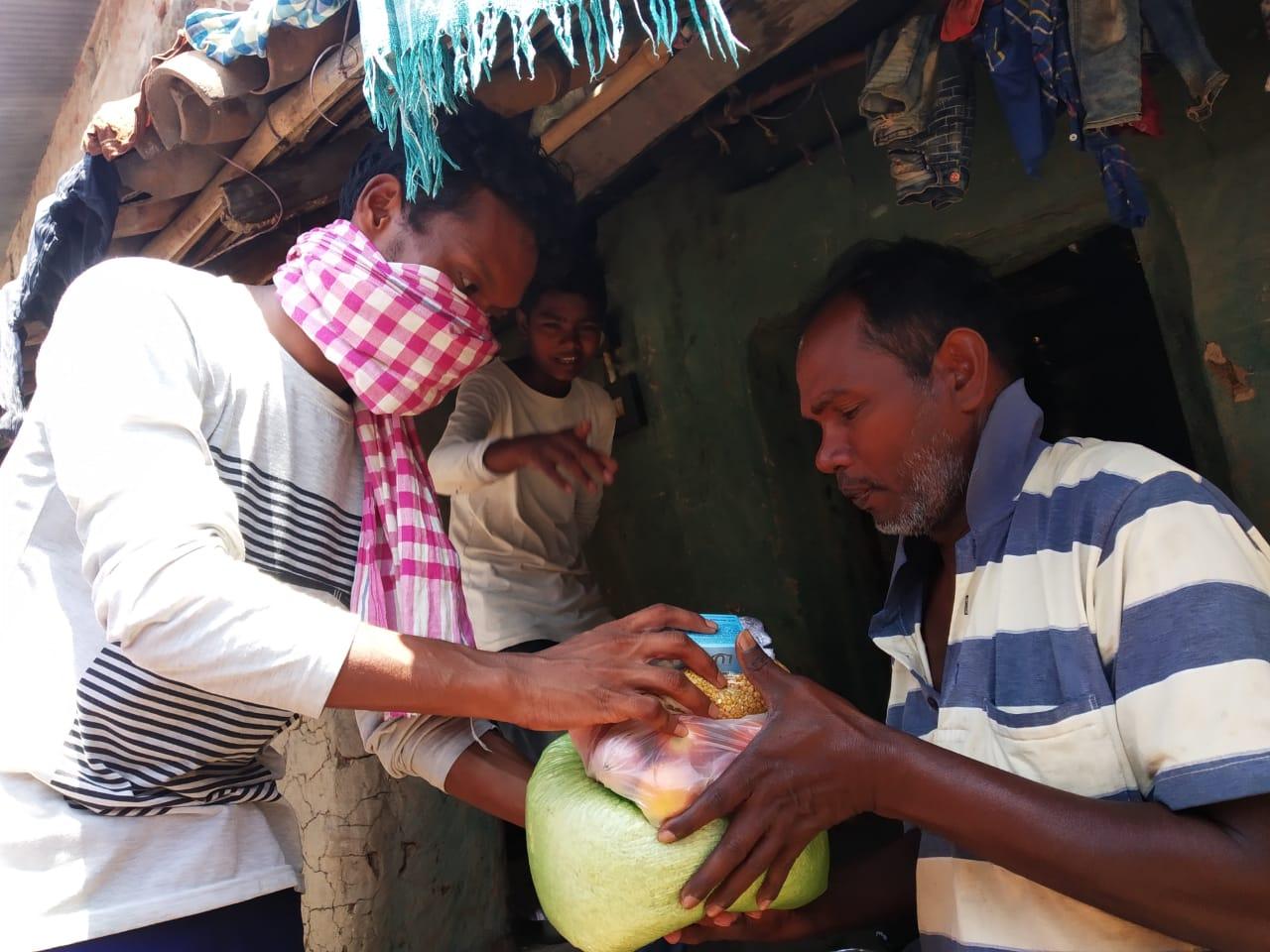Ration Distribution in Sonepur, Orissa