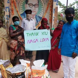 Food Distribution at Kolar, Karnataka