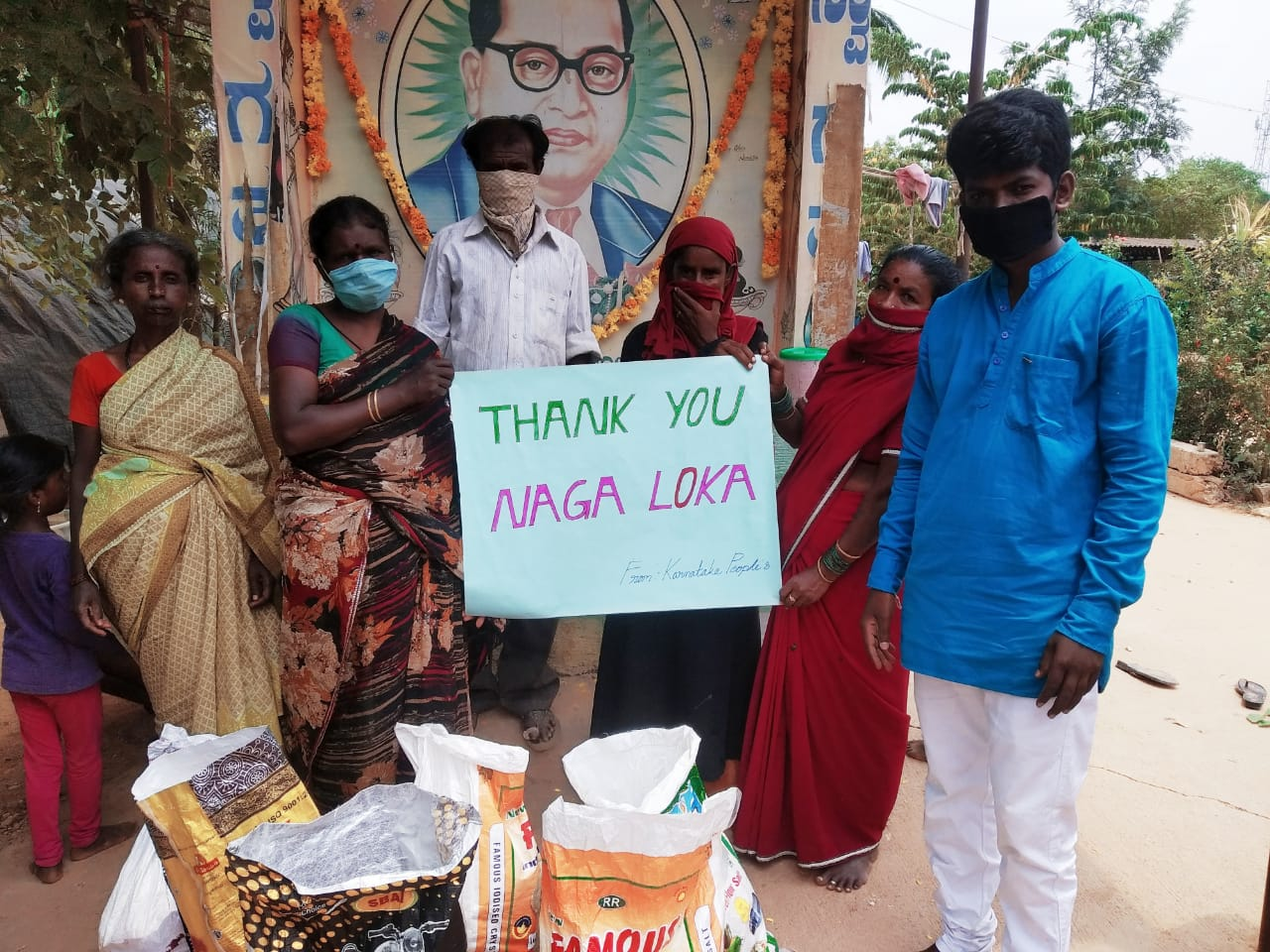 You are currently viewing Food Distribution at Kolar, Karnataka