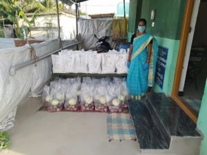 Kits Distribution in Somavarapatti, Tiruppur, Tamil Nadu