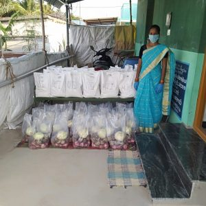 Kits Distribution in Somavarapatti, Tiruppur, Tamil Nadu
