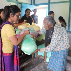 Ration Distribution in Changlang, Arunachal Pradesh