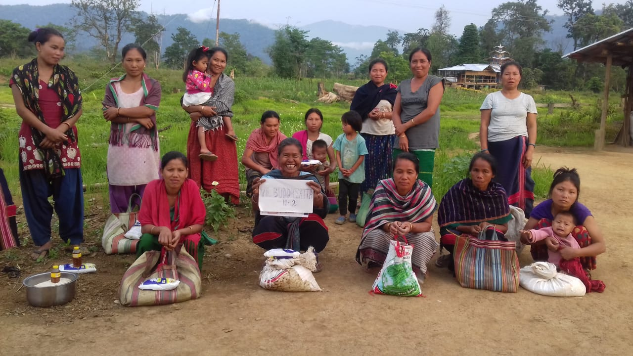 Ration Distribution in Divan, Arunachal Pradesh