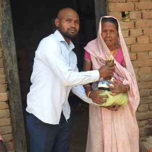 Ration Distribution in Bodhgaya, Bihar