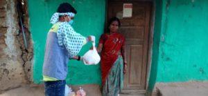 Ration Distribution at Bastar, Chattishgarh