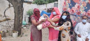 Kits distribution at Alwar, Rajasthan