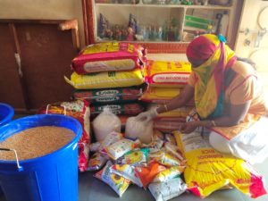 Ration Distribution in Hyderabad, Telangana