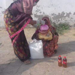 Ration Distribution at Bilgram, Uttar Pradesh