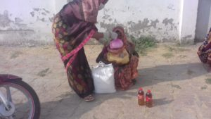 Ration Distribution at Bilgram, Uttar Pradesh