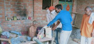 Ration Distribution in Kannuj, Uttar Pradesh