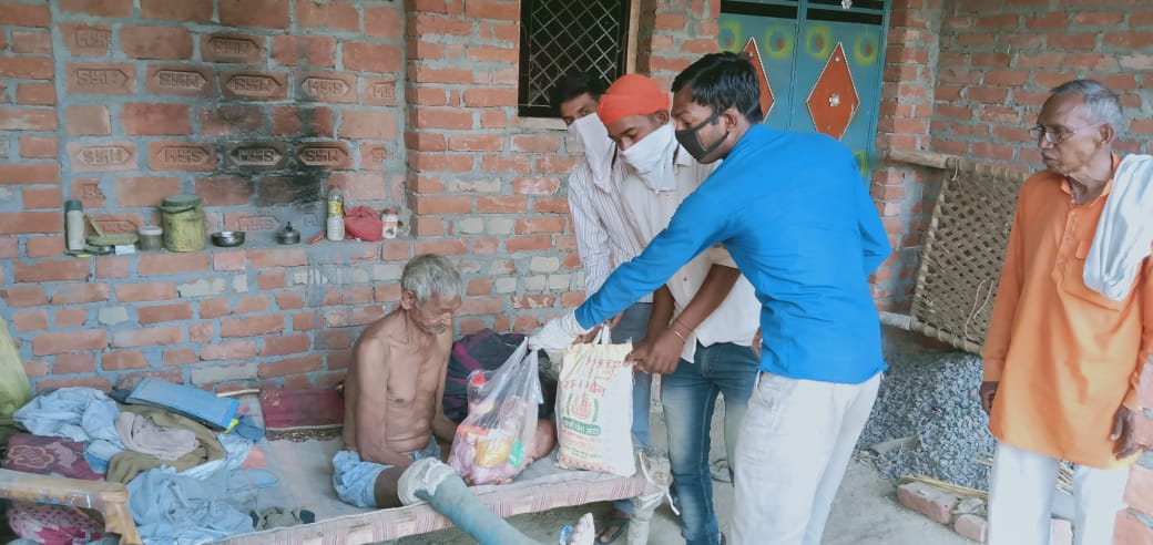 Ration Distribution in Kannuj, Uttar Pradesh