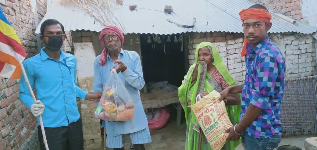 You are currently viewing Ration Distribution in Kannuj, Uttar Pradesh
