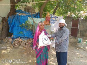 Ration Distribution at Nizamabad Kondor, Telangana