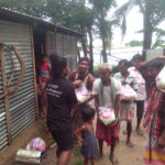 ration Distribution at Karimganj, Assam