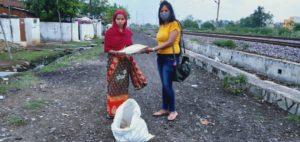 Ration Distribution at Raipur, Chattishgarh