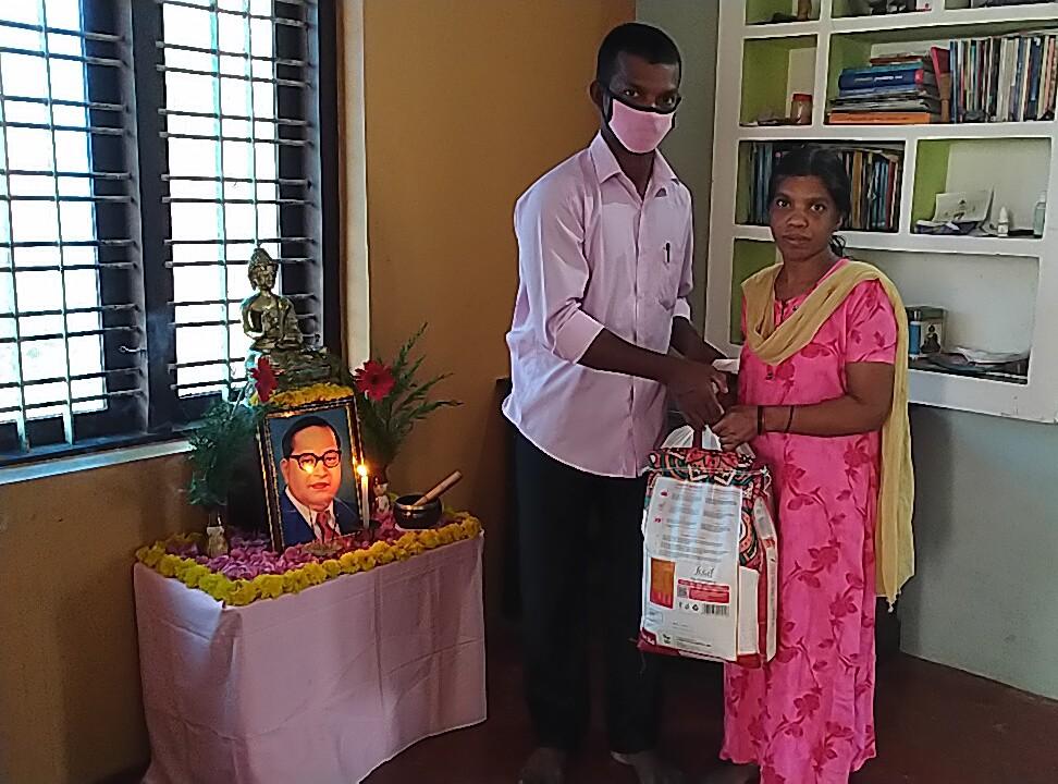 Ration Distribution at Kollam, Kerala