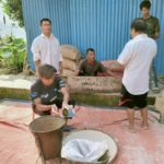 Ration Distribution at Tamenglong, Manipur