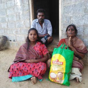Ration Distribution at Dharmapuri, Tamil nadu