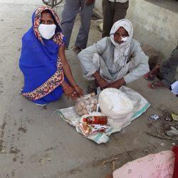Ration Distribution at Badaun, Uttar Pradesh