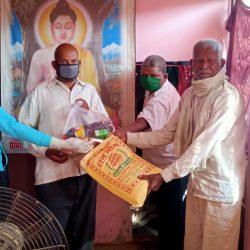Ration Distribution at Kannuaj, Uttar Pradesh