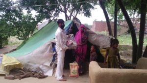 Ration Distribution at Etawah, Uttar Pradesh