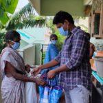 Ration Distribution at Visakhapatnam, Andhra pradesh
