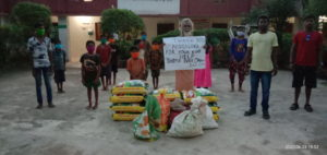 Ration Distribution at Subarnapur, Orissa