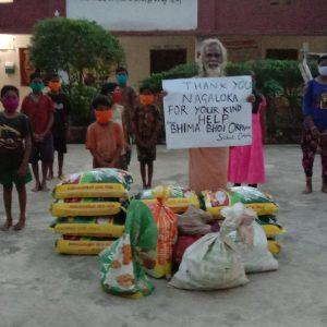 Ration Distribution at Subarnapur, Orissa