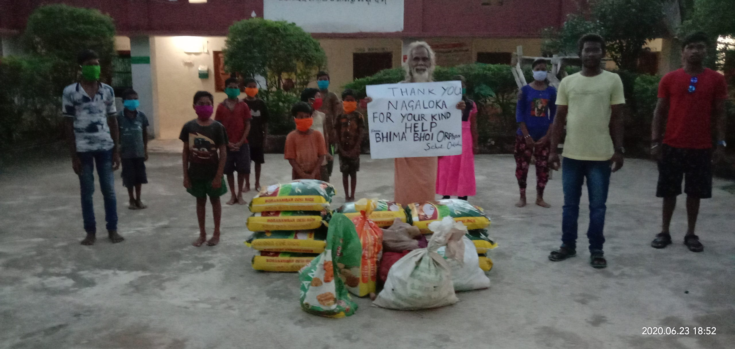 You are currently viewing Ration Distribution at Subarnapur, Orissa