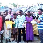 Relief work at Sonepur, Orissa