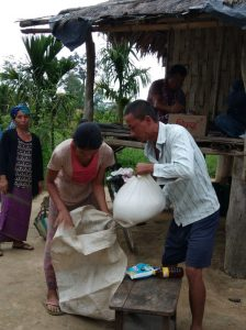 Ration Distribution at Avoipur, Diyun, Changlang, Arunachal Pradesh